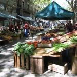 The Open Farmer's Market in Centro