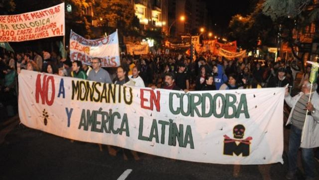 Argentina Protesters Face Off With Monsanto