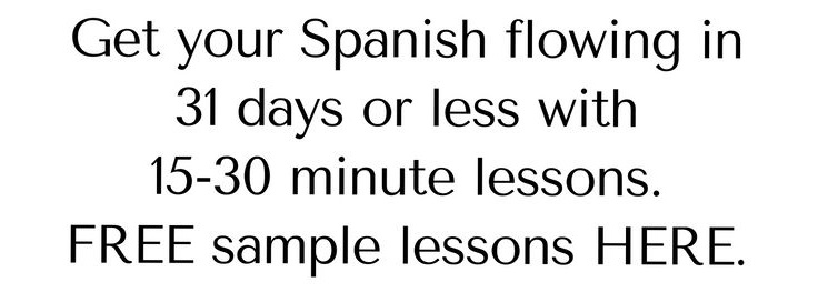 FREE Sample Spanish Lessons