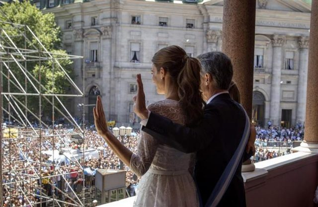 Argentina President Macri Ends First Year